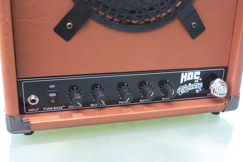 Pignose Hog 30 rechargable battery amplifier.
