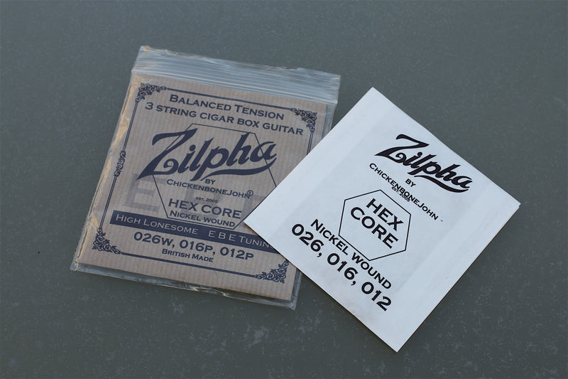 "Zilpha Strings - Balanced Tension EBE (Nickel) ""High Lonesome"""