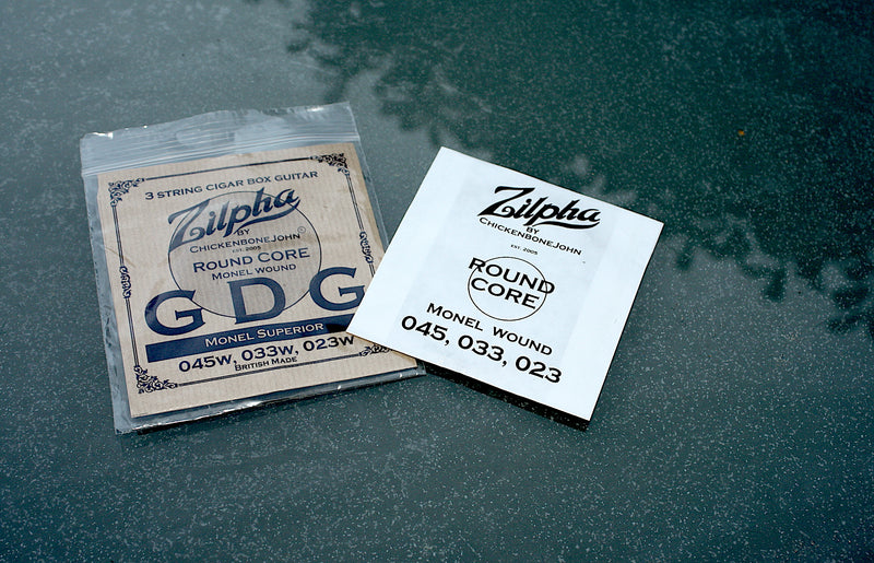 Zilpha Newtone Strings - GDG Roundcore MONEL wound
