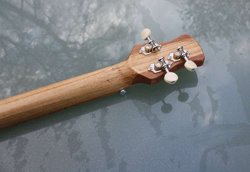 Oliva 3 String Cigar Box Guitar - handwound pickup