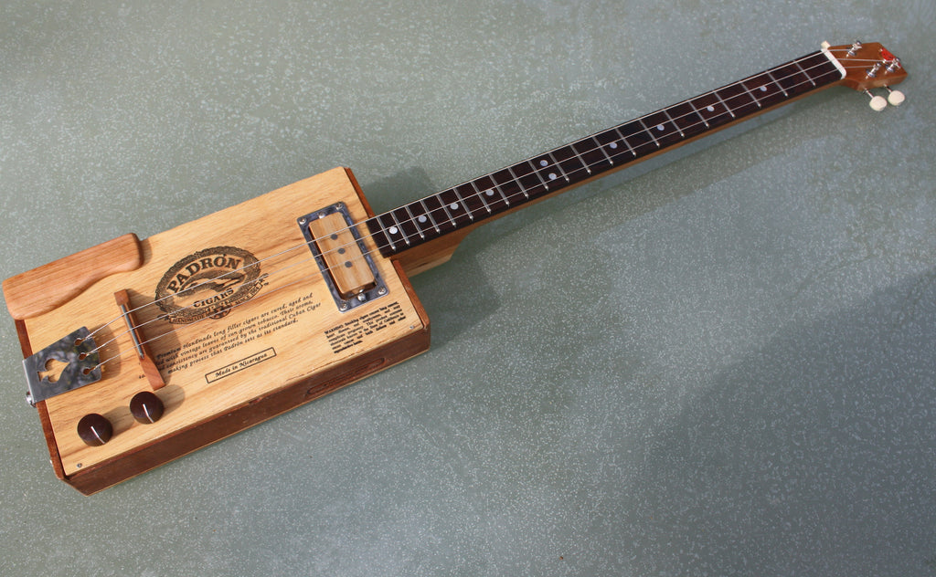 Padron - 3 String Cigar Box Guitar