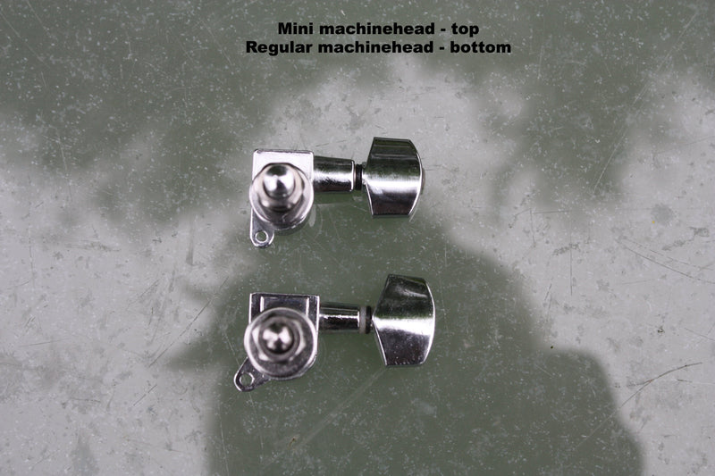 Size comparison Mini Machinehead VS regular Macinehead