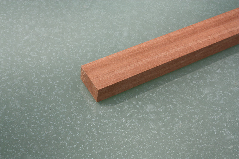 Sapele mahogany, 36 x 22 x 900mm, ideal for 3 string cigar box guitars.
