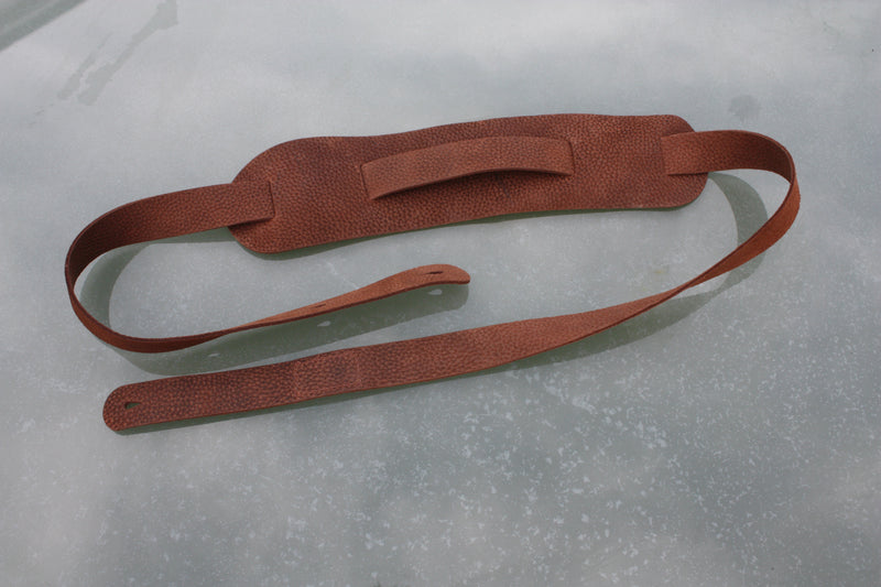 Handmade Uber Doofer Leather Guitar Strap