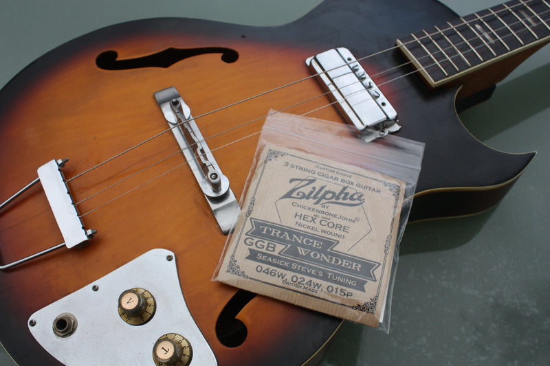 "Zilpha Strings - ""Trance Wonder"" Seasick Steve tuning - GGD"