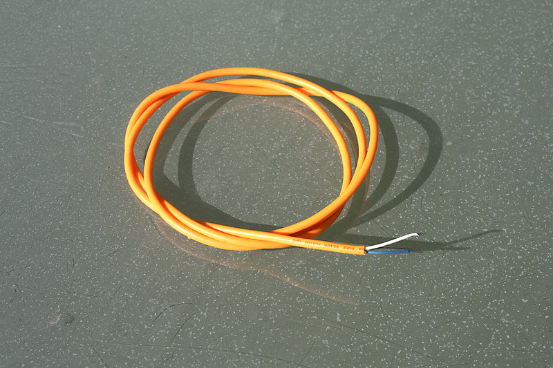 Van Damme shielded hoop-up wire, 1 metre