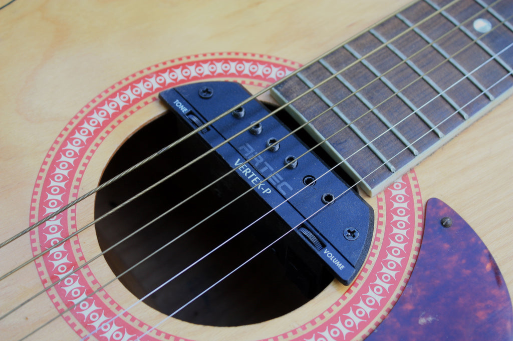 Artec Vertex-P soundhole pickup for acoustic guitar