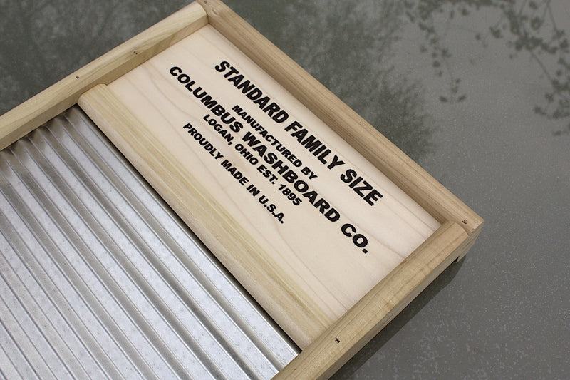 """Sunnyland"" USA made full-size washboard"