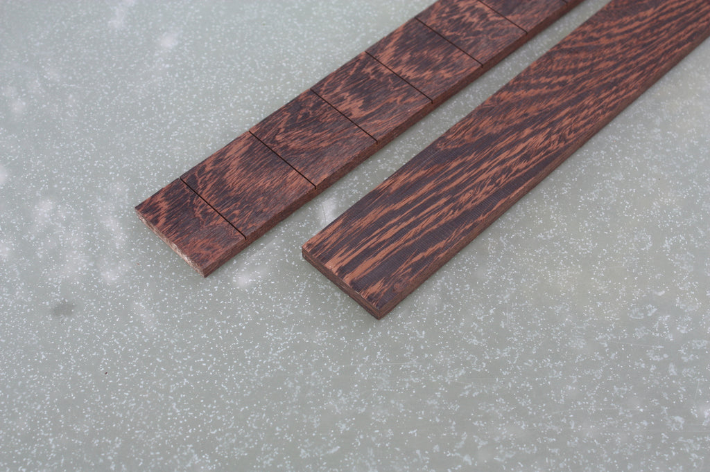 Wenge Fretboard - Plain and Slotted. PRIVATE STOCK.