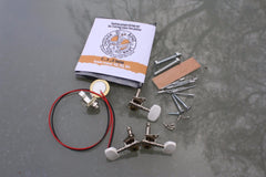 Cigar Box Guitar Hardware Pack - Piezo pickup 'Workshop' pack