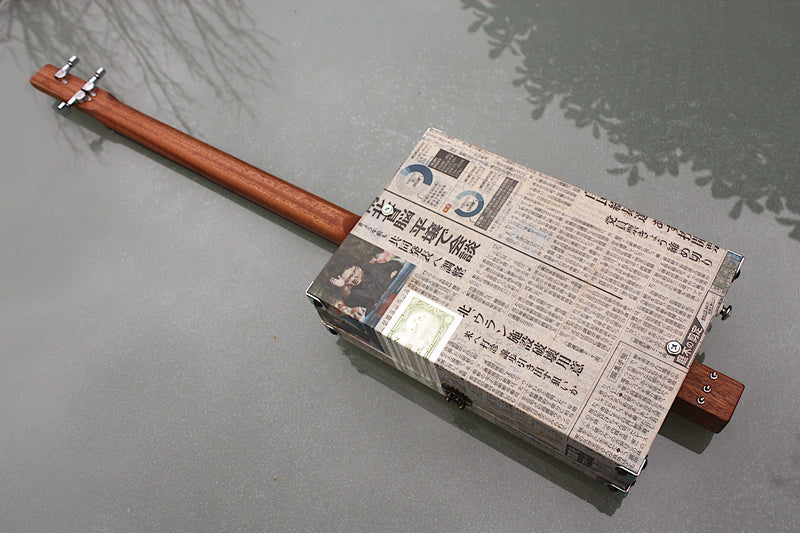 Yomiuri - 3 String Cigar Box Guitar