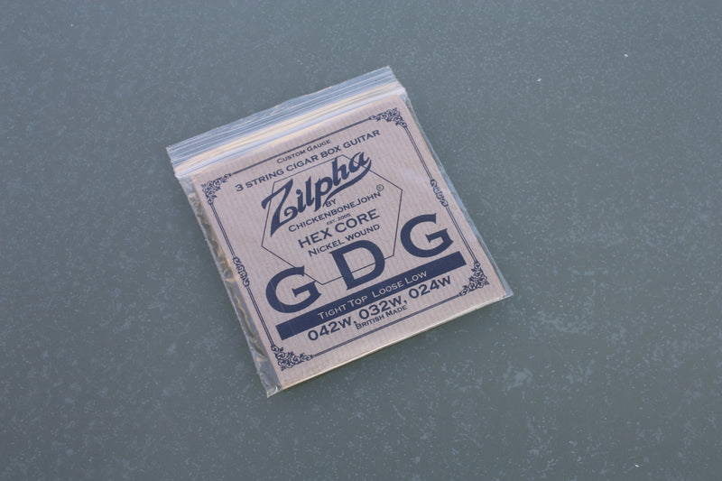 "Zilpha Strings - ""Tight Top, Loose Low"" - GDG (Nickel)"