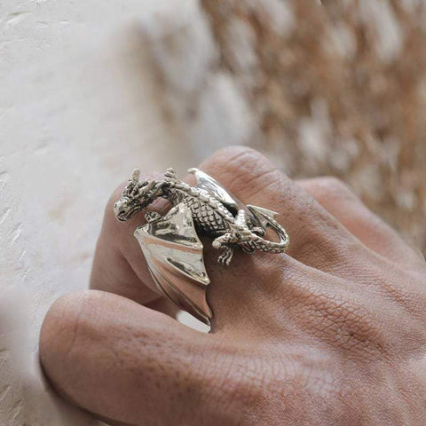 Flying Dragon Ring(Adjustable size)