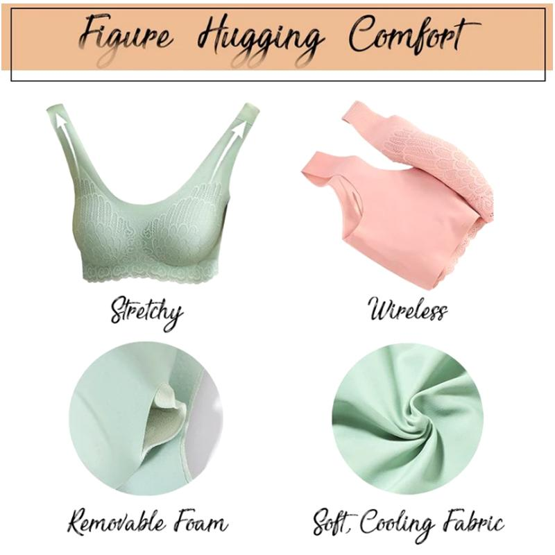5D Wireless Contour Bra (Set Of 3)