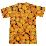 Chicken Nuggets Invasion T-Shirt-Subliminator-| All-Over-Print Everywhere - Designed to Make You Smile