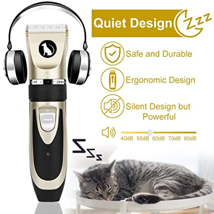 Rechargeable Dog Clipper, Low Noise