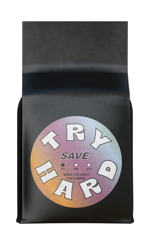 Save Try Hard Blend