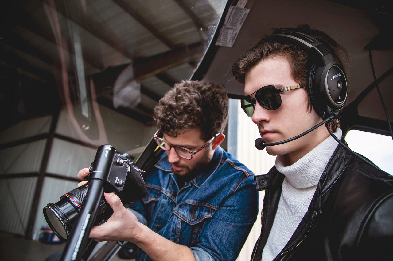 BTS Volare Helicopters Spot with StellaPro CL Lights