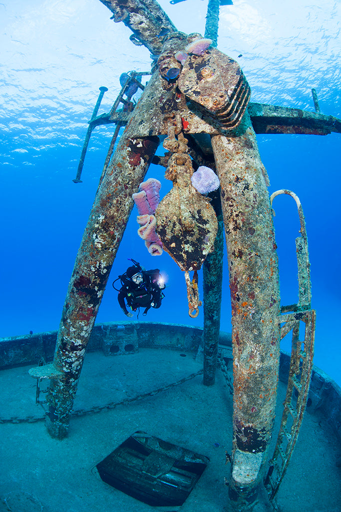 Jill Heinerth launch wreck dive