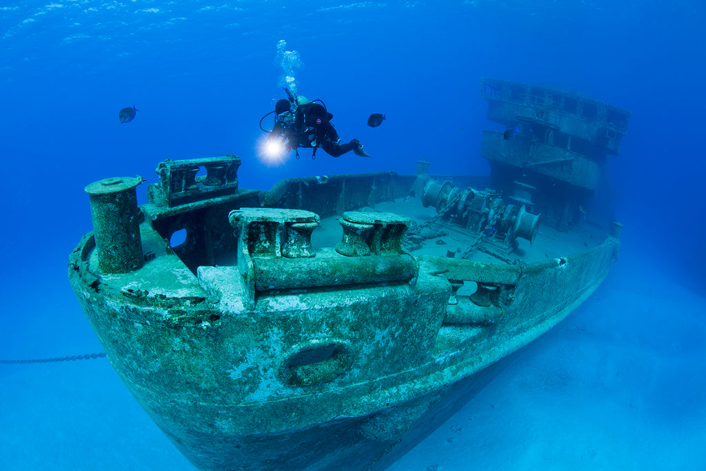 Jill Heinerth wreck dive ship