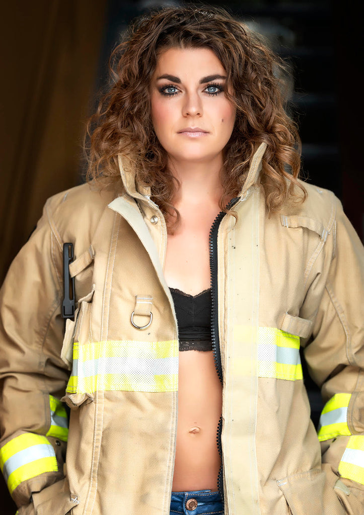 Michelle Valberg woman firefighter