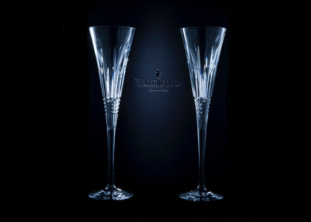 Paolo Cascio Waterford Crystal champagne flutes