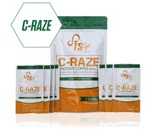 Load image into Gallery viewer, C-Raze Instant Coffee (7 Day Supply)