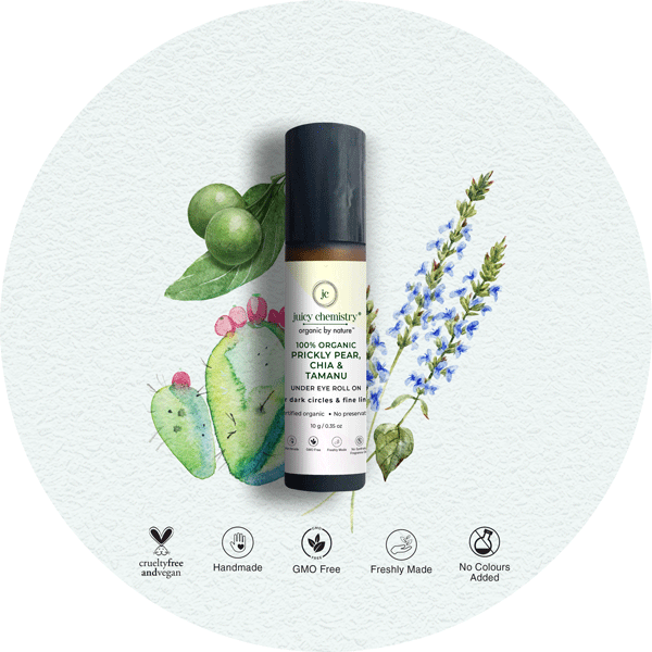 Prickly Pear, Chia & Tamanu Eye Rollon - juicychemistry