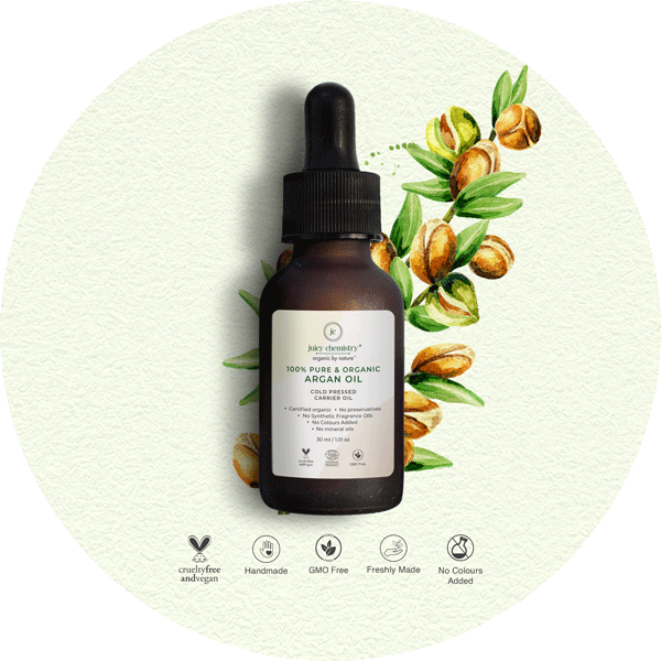 Cold Pressed Argan Carrier Oil - juicychemistry