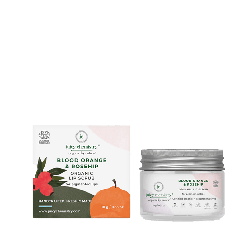Blood Orange & Rosehip Lip Scrub - juicychemistry