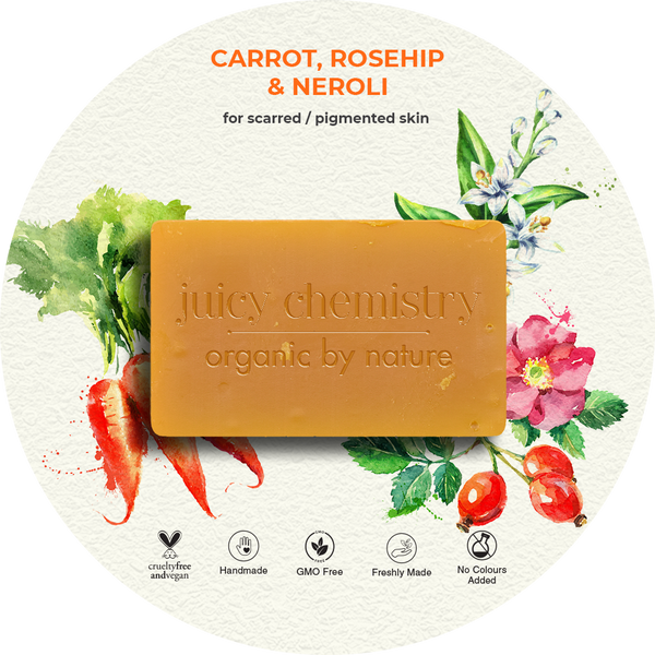 Carrot, Rosehip & Neroli Organic Cold Pressed Soap