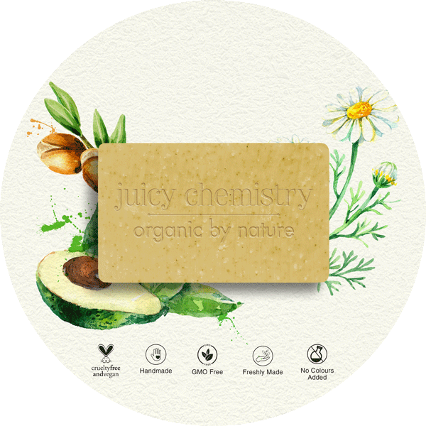 Chamomile, Argan & Avocado Organic Cold Pressed Soap - juicychemistry