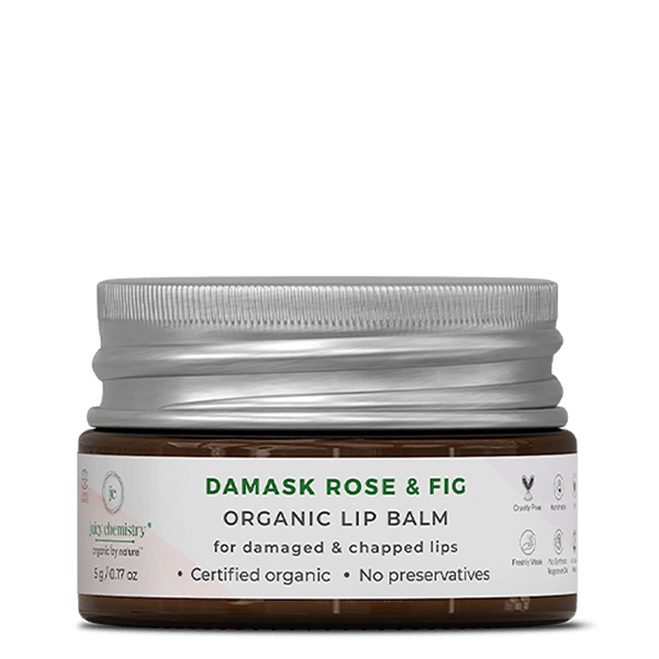 Damask Rose & Fig Lip Balm - juicychemistry