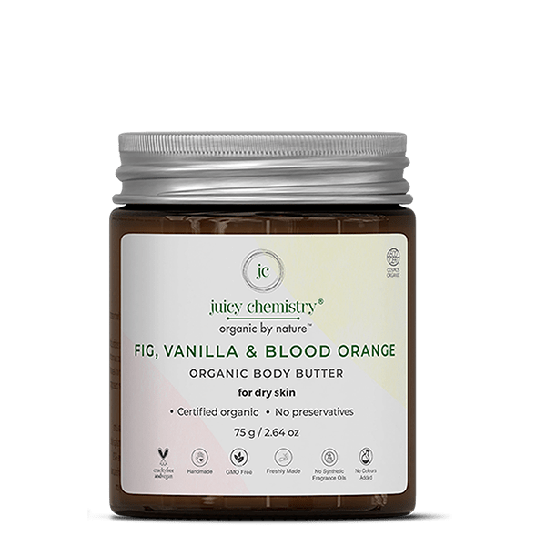 Fig, Vanilla & Blood Orange Organic Body Butter - juicychemistry