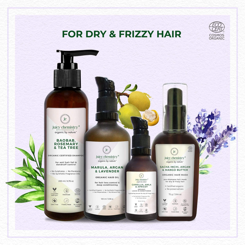 FOR DRY & FRIZZY HAIR - juicychemistry