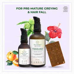 FOR PRE MATURE GREYING AND HAIR FALL - juicychemistry