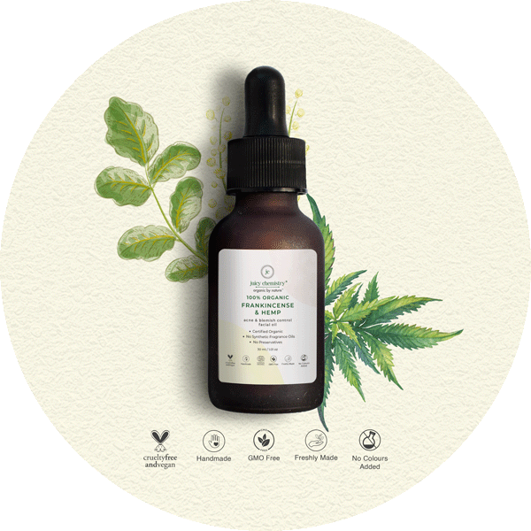 Frankincense & Hemp Facial Oil - juicychemistry