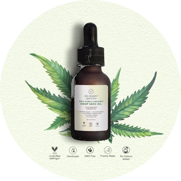 Cold Pressed Hemp Seed Carrier Oil - juicychemistry