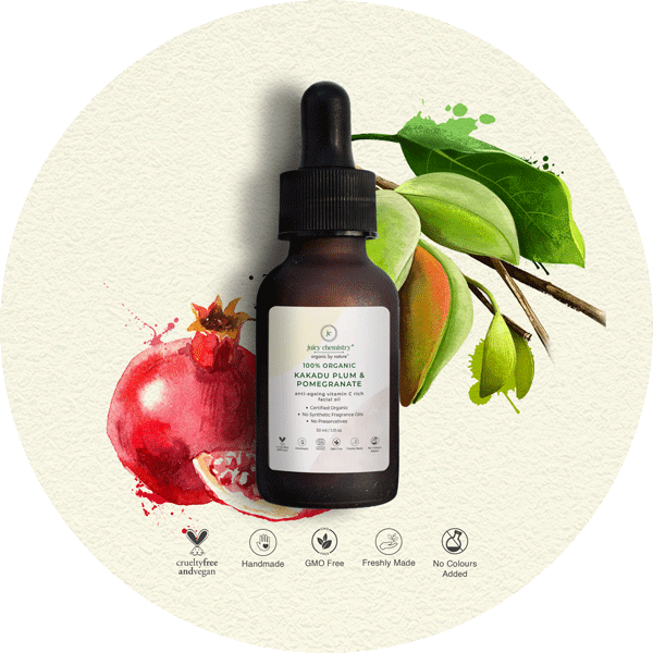 Kakadu Plum & Pomegranate Facial Oil - juicychemistry