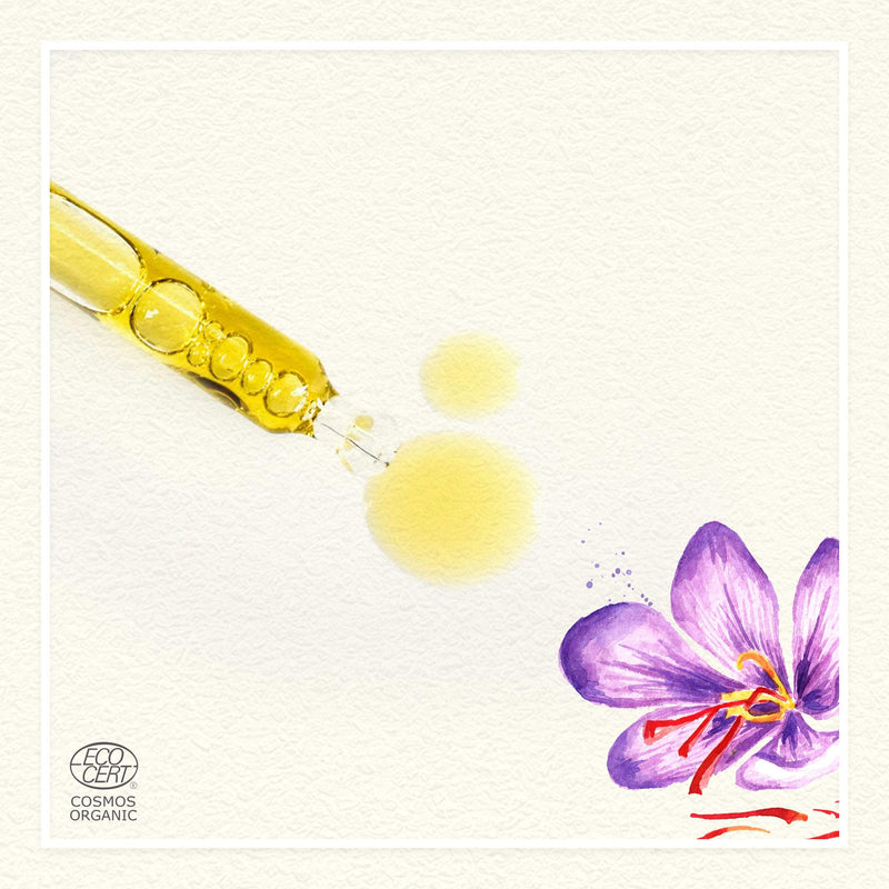 Saffron & Red Raspberry Facial Oil - juicychemistry