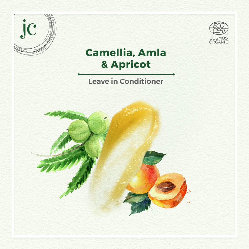 Camellia, Amla & Apricot Leave In Conditioner - juicychemistry