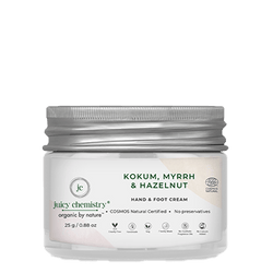 Kokum, Myrrh & Hazelnut Hand & Foot Cream - juicychemistry