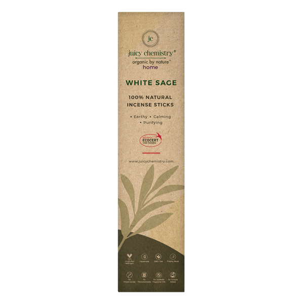 White Sage Hand-rolled Incense Sticks - juicychemistry