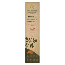 Natural Myrrha Hand-rolled Incense Sticks - juicychemistry