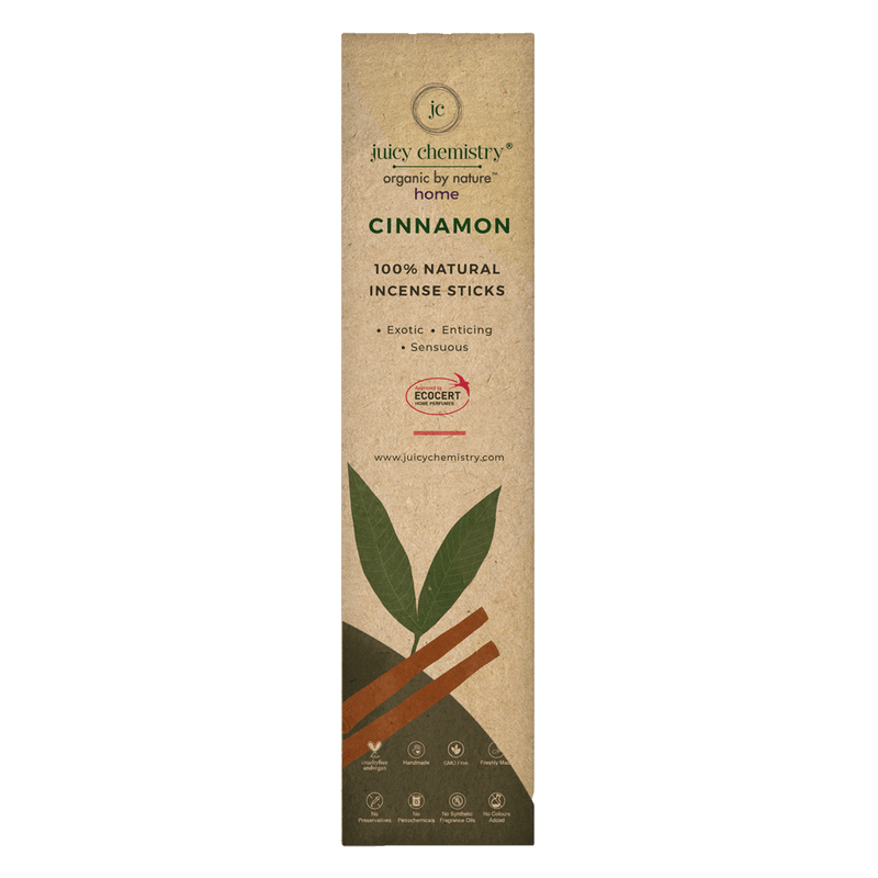 Cinnamon Hand-rolled Incense Sticks - juicychemistry