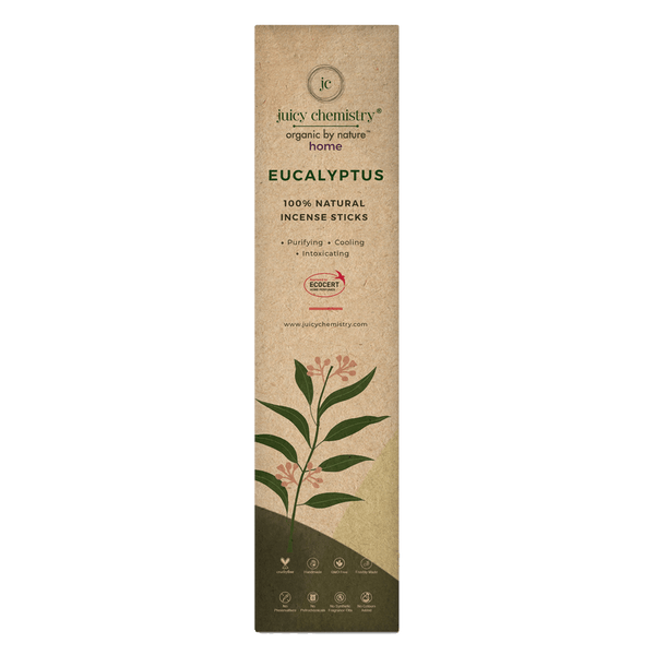 Eucalyptus Hand-rolled Incense Sticks - juicychemistry