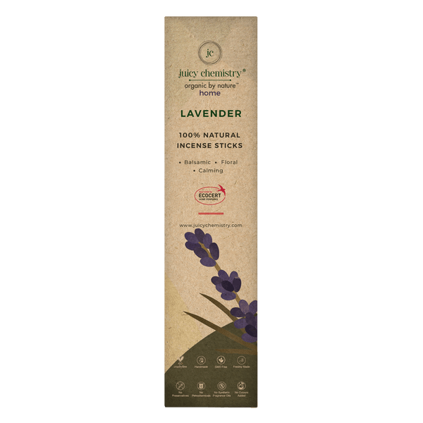 Lavender Hand-rolled Incense Sticks - juicychemistry