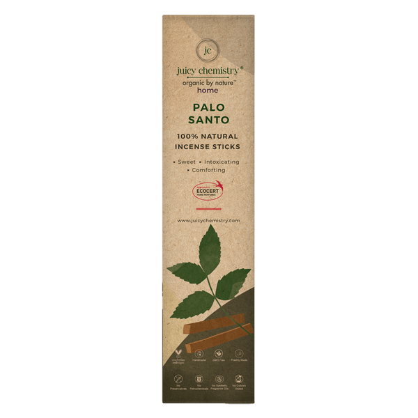 Palo Santo Hand-rolled Incense Sticks - juicychemistry