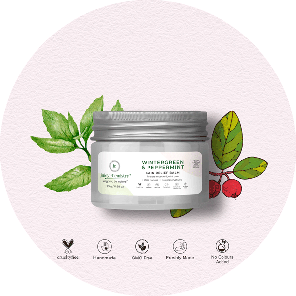 Wintergreen & Peppermint Pain Relief Balm - juicychemistry