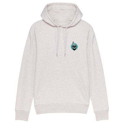 Melon Bomb Embroidered Skull Logo Men's Flyer Iconic Hoodie-My Essential